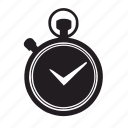 accept, alarm, check, clock, complete, ok, schedule, time, timer, watch icon