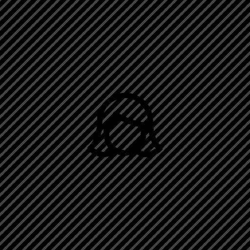 avatar, female, head, small, tiny, user, woman icon