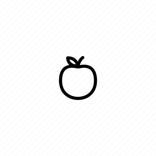 apple, food, fresh, fruit, juice, small, tiny icon