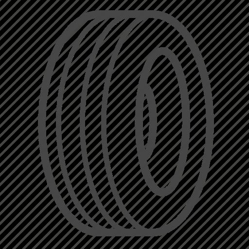 Garage, rubber, tire, tyre, wheel icon - Download on Iconfinder