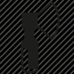ax, axe, cleaver, fix, repair, tool icon