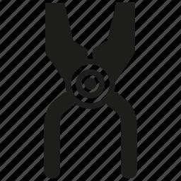 clippers, fix, maintenance, repair, scissors, tool icon