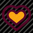 bookmark, favorite, health, heart, love, romance, valentine icon
