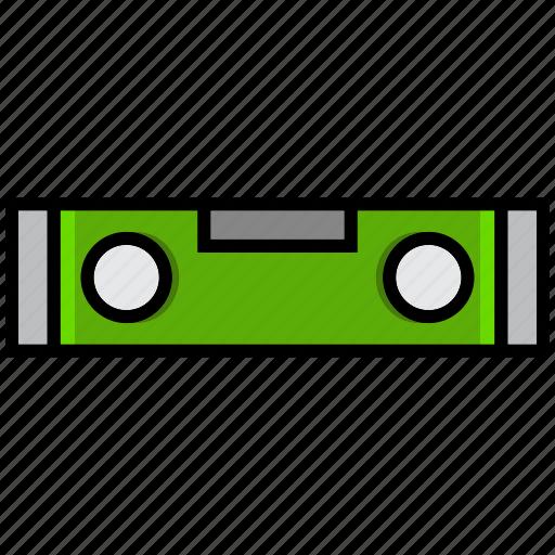 draw, gauge, level, repair, tool, water pas, work icon