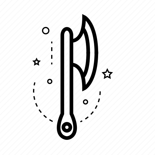 axe, chopper, draw, hatchet, repair, tool, work icon