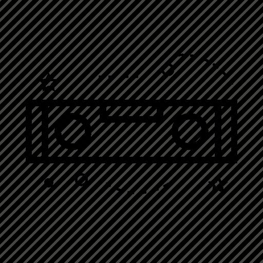 draw, gauge, level, repair, tool, work icon