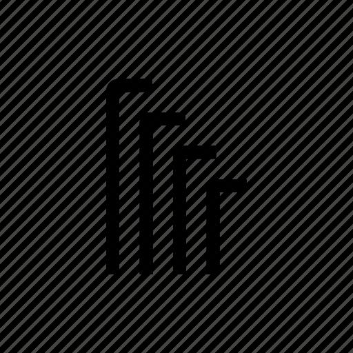allen wrench, loosen, tighten, tool icon