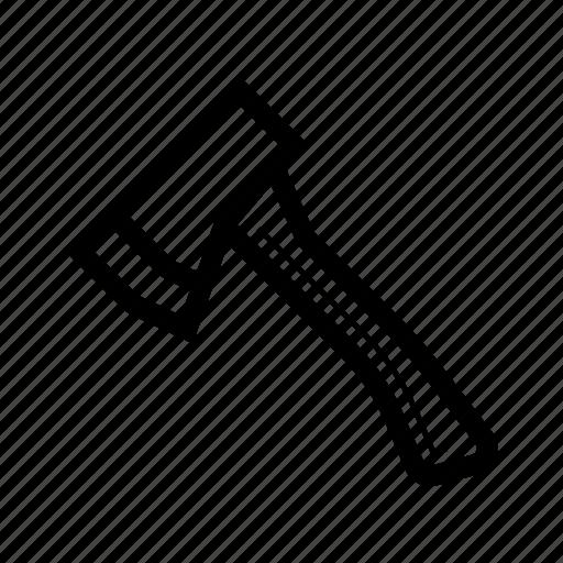 ax, chop, forest, hatchet icon
