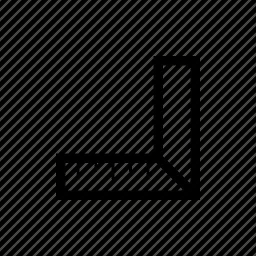 measure, square, triangle icon