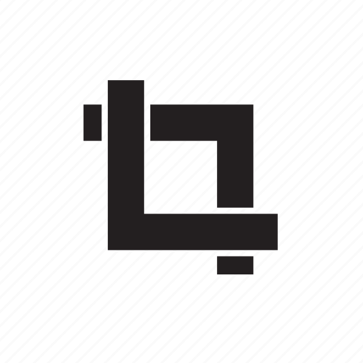 crop, tool icon