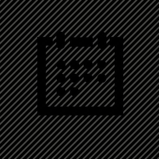 calendar, date, tool icon