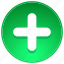 add, aid, care, clinic, create, creation, cross, drugs, drugstore, health, healthcare, hospital, new, plus, round icon