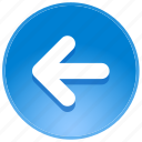 arrow, arrows, back, backward, direction, guidance, last, left, location, pointer, previous, undo icon