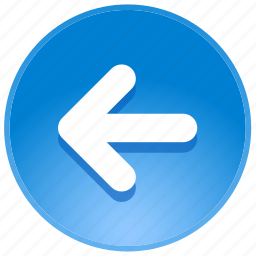 arrow, arrows, back, backward, direction, guidance, last, left, location, pointer, previous, undo icon