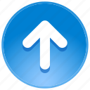 direction, guidance, upload, up, arrow, navigation, pointer, back, location