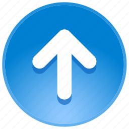 arrow, back, direction, guidance, location, navigation, pointer, up, upload icon