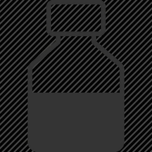 bar, container, glass bottle, liquid, pharmacy, tube, vial icon