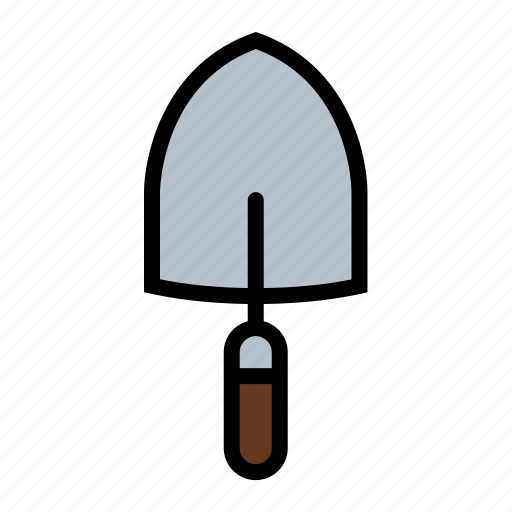 dig, garden trowel, gardening, lawn care, shovel, tools, yard work icon