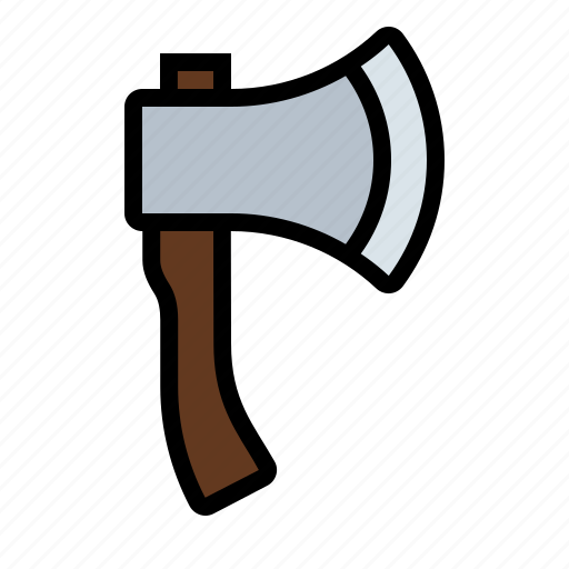 ax, chop, gardening, hatchet, tools, weapon, wood icon