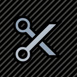 clip, cut, scissors, seamstress, sewing, shears icon