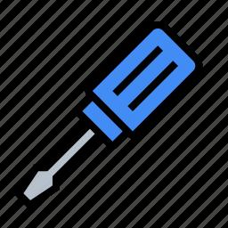 fix, mechanic, repair, screw, screwdriver, tools icon