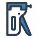 construction, stapler, tools icon