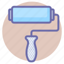 pattern, roller, tools icon