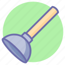 plunger, toilet, tools