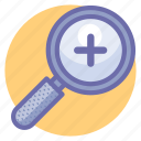 magnifier, tools, view, zoom, zoom in, zoom tool