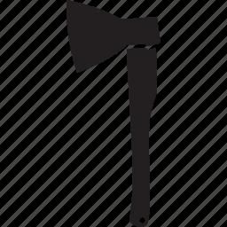 ax, construction, cut, tool, tree icon
