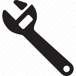 build, construction, metal, tool, wrench icon