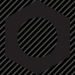 bolt, screw, tool icon