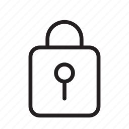 lock, locked, secured, security icon