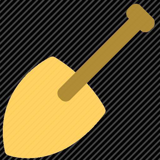 shovel, spade, tool icon
