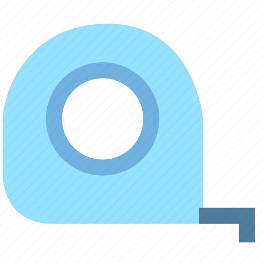 design, layout, size, tape measure icon