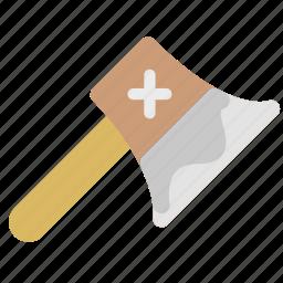 architecture, axe, building, repair, tool icon
