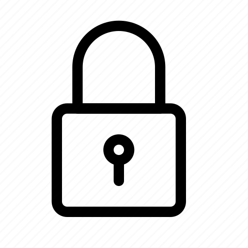 Locked, unlocked, lock, safe, privacy, encryption, security icon