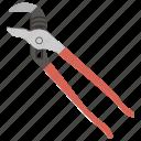 construction plier, locking plier, maintenance tool, plumbing tool, pump plier icon