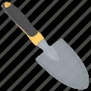gardening tool, hand tool, shovel, spade, trowel icon
