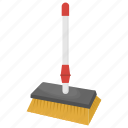 cleaning brush, cleaning supplies, cleaning tool, floor scrub, mop icon