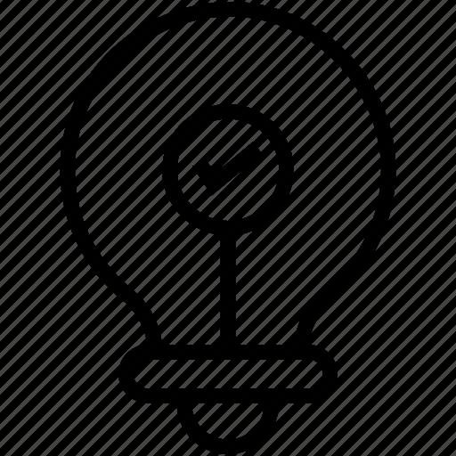 bulb, creativity, idea, innovation, lightbulb icon
