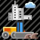 construction, equipment, grader, road, vehicle