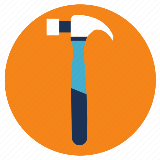 equipment, hammer, tools icon