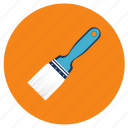 brush, equipment, paint, tools icon