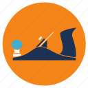 equipment, shaving, tools, wood icon