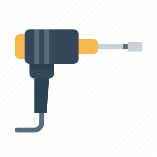 construction, drill, drilling, heavy, machine, machinery, tool icon