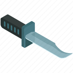 army, blade, equipment, knife, outdoor, tools icon