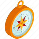 compass, direction, equipment, navigation, tools icon