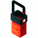 bag, dry, equipment, outdoor, tools icon