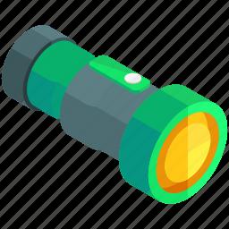 equipment, flashlight, light, night, tools, torch icon